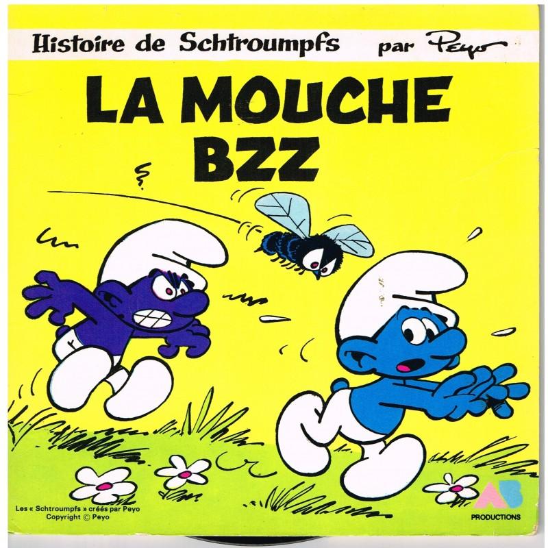 LIVRE-DISQUE 45 TOURS LA MOUCHE BZZ