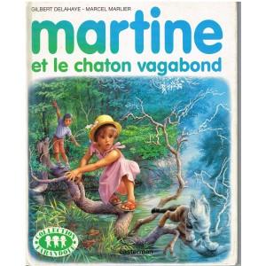 LIVRE : MARTINE ET LE CHATON VAGABOND