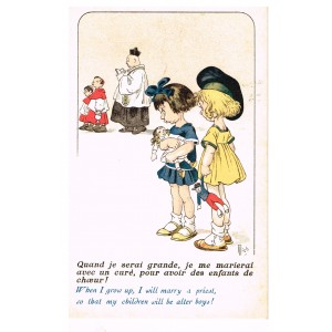 "CARTE POSTALE MICH - ""BAMBINS ET BAMBINES"" N° 7032"