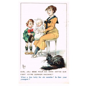 "CARTE POSTALE MICH - ""BAMBINS ET BAMBINES"" N° 7033"