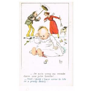 """CARTE POSTALE MICH - """"CES COQUINS D'ENFANTS""""  N° 7008"""