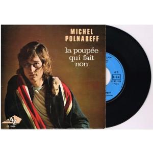 DISQUE 45 TOURS 17 cm EP MICHEL POLNAREFF - LA POUPEE QUI FAIT NON