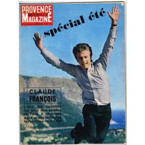 PROVENCE MAGAZINE MARSEILLE N° 175 - JUILLET 1964 - CLAUDE FRANCOIS