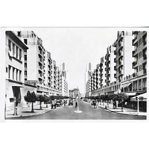 cp69-villeurbanne-les-gratte-ciel-avenue-de-l-hotel-de-ville