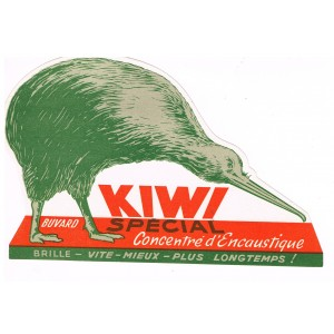 BUVARD KIWI SPECIAL CONCENTRE D'ENCAUSTIQUE