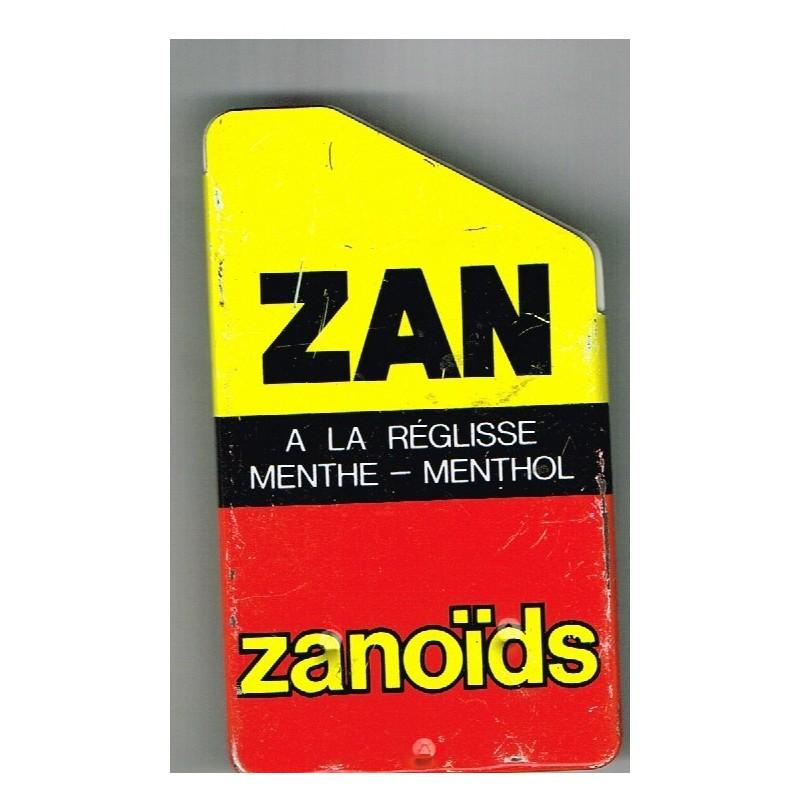 BOITE METAL ANCIENNE ZAN - ZANOÏDS - UZES-MOUSSAC