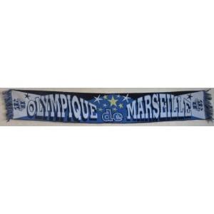 ECHARPE OLYMPIQUE DE MARSEILLE - ETOILES - DROIT AU BUT