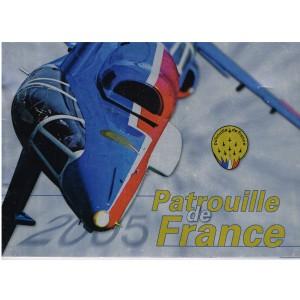 BROCHURE DE LA PATROUILLE DE FRANCE 2005