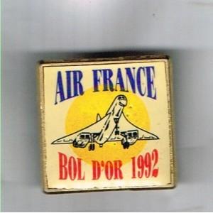 PIN'S AiR FRANCE - BOL D'OR 1992 - CONCORDE