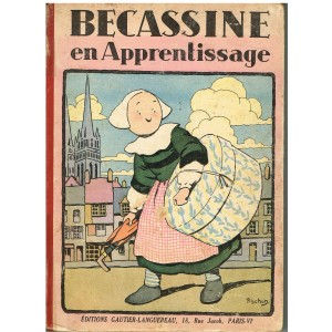 LIVRE : BECASSINE EN APPRENTISSAGE - 1948