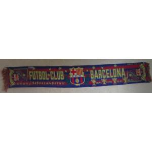ECHARPE FUTBOL CLUB BARCELONA - CHAMPION DE 1990 A 1994