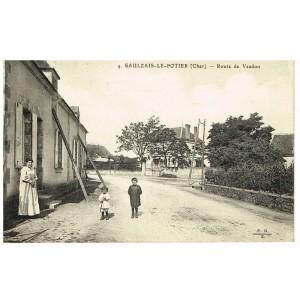 CP18 SAULZAIS-LE-POTIER - ROUTE DE VESDUN
