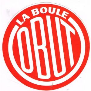 AUTOCOLLANT LA BOULE OBUT
