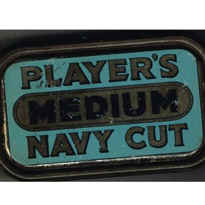 BOITE ANCIENNE METAL PLAYER NAVY CUP MEDIUM