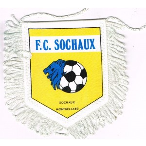 FANION FOOTBALL F.C. SOCHAUX - SOCHAUX MONTBELIARD