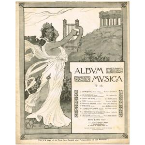 ALBUM MUSICA N°16 - 9 PARTITIONS