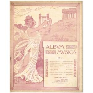 ALBUM MUSICA N°21 - 7 PARTITIONS