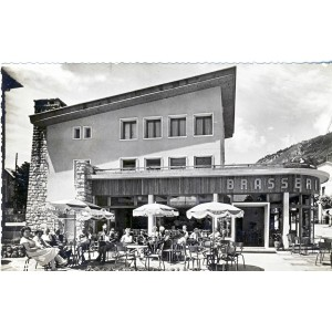 cp73-bourg-st-maurice-brasserie-de-la-gare