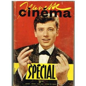 JEUNESSE CINEMA SPECIAL JANVIER-FEVRIER-MARS 1962 - JOHNNY HALLYDAY