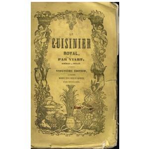 LIVRE - LE CUISINIER ROYAL par VIART - 1846