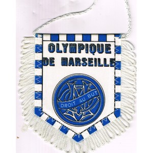 FANION OLYMPIQUE DE MARSEILLE