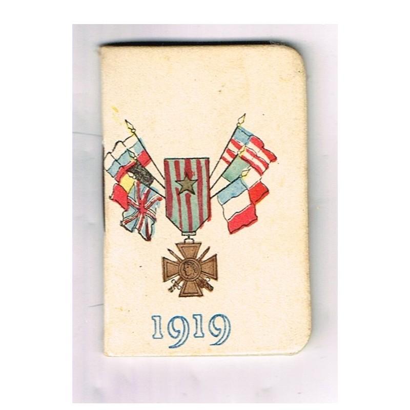 CALENDRIER PETIT ALMANACH POUR 1919