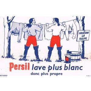 BUVARD PERSIL LAVE PLUS BLANC DONC PLUS PROPRE - FANFAN  LA TULIPE