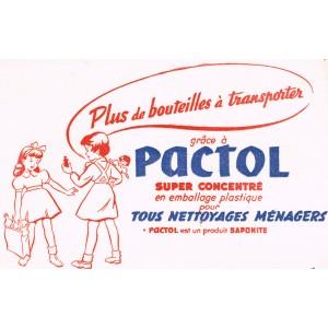 BUVARD PLUS DE BOUTEILLES A TRANSPORTER GRÂCE A PACTOL