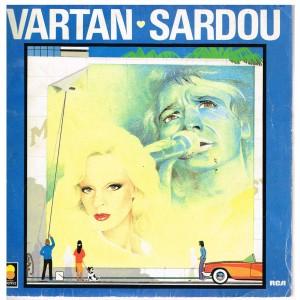 DISQUE 45 TOURS 17 cm SYLVIE VARTAN - MICHEL SARDOU