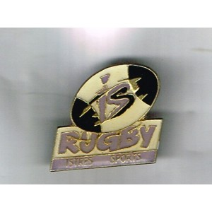 PIN'S DE RUGBY  - ISTRES SPORT - BALLON DE RUGBY