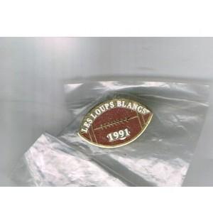 PIN'S DE RUGBY  - LES LOUPS BLANCS 1991