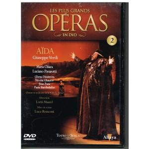 DVD  AÏDA - LES PLUS GRANDS OPERAS EN DVD - N° 2