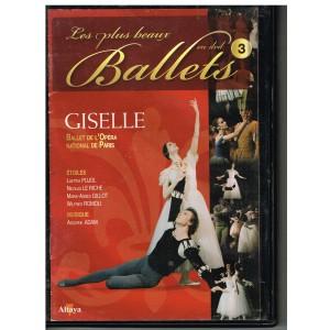 DVD GISELLE - LES PLUS BEAUX BALLETS EN DVD - N° 3
