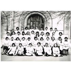 PHOTO DE CLASSE DE 1956 - CLASSE DE JEUNES FILLES : 5ème