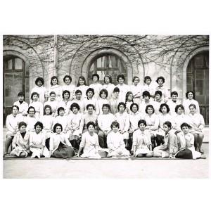 PHOTO DE CLASSE DE 1959-1960 - CLASSE DE JEUNES FILLES : 2de