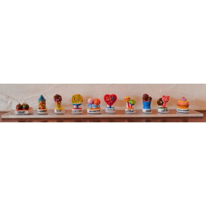 FEVES - SERIE DE 10 FEVES BONBONS ET CAKE POPS