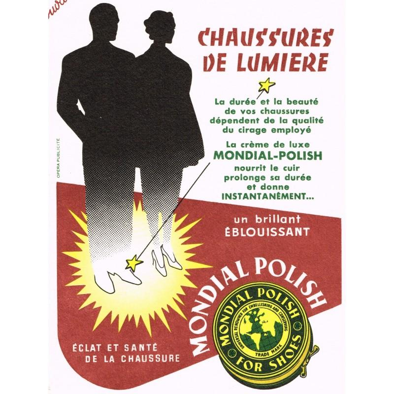 BUVARD CHAUSSURES DE LUMIERE - CREME DE LUXE MONDIAL-POLISH
