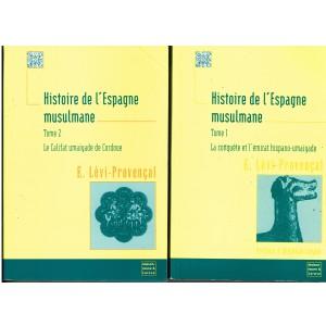 LIVRES - HISTOIRE DE L'ESPAGNE MUSULMANE TOMES 1 ET 2