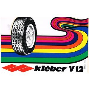AUTOCOLLANT  KLEBER V12