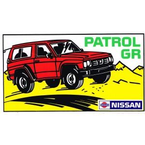 AUTOCOLLANT PATROL GR - NISSAN