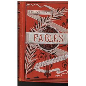 LIVRE - FABLES DE M. DE FLORIAN ILLUSTREES PAR PAUQUET ET HENRY EMY