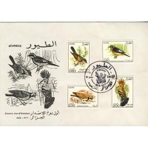 oiseaux-d-algerie-obliteration-1er-jour