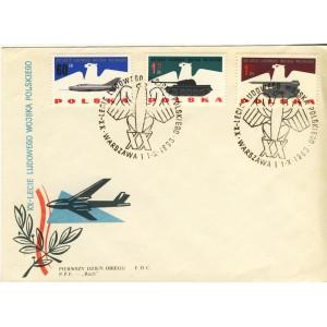 aigle-sur-timbres-et-obliteration-1er-jour-de-pologne