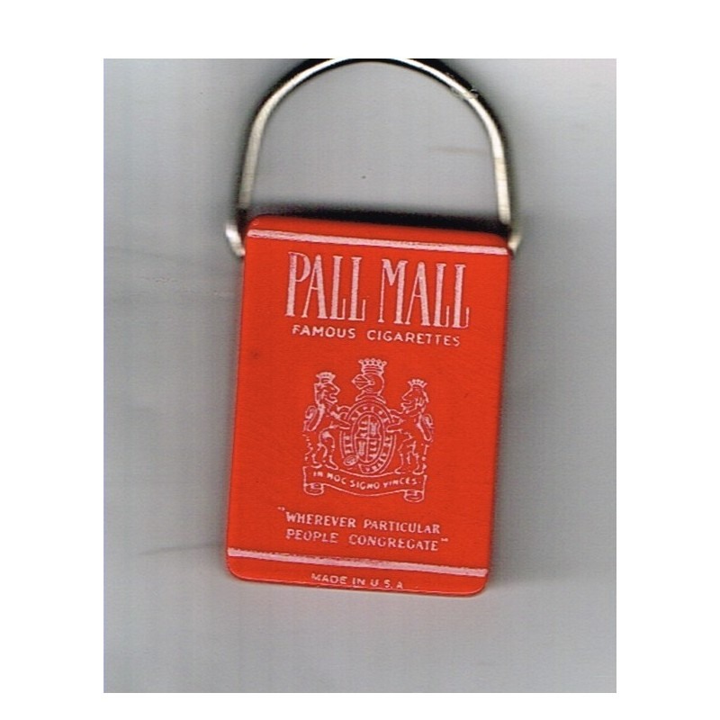 PORTE CLES CIGARETTES PALL MALL -  MADE IN USA