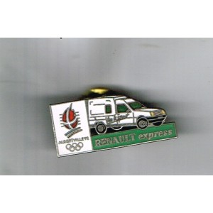 PIN'S JEUX OLYMPIQUES ALBERTVILLE 92 - RENAULT EXPRESS
