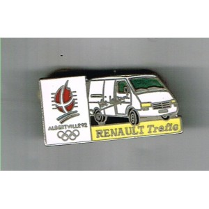 PIN'S JEUX OLYMPIQUES ALBERTVILLE 92 - RENAULT TRAFIC