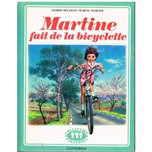 LIVRE : MARTINE FAIT LA BICYCLETTE - BORDURE VERTE