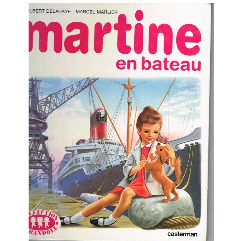 LIVRE : MARTINE EN BATEAU