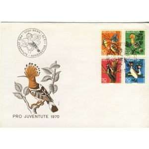 timbres-et-obliteration-oiseaux-1er-jour-de-suisse