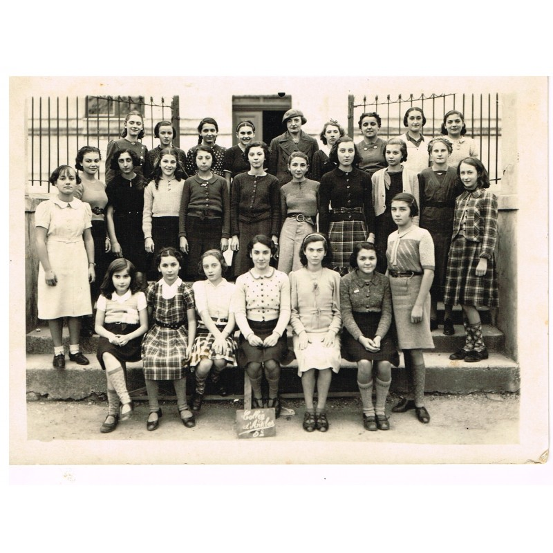 PHOTO DE CLASSE DE 5ème - COLLEGE D'ANTIBES